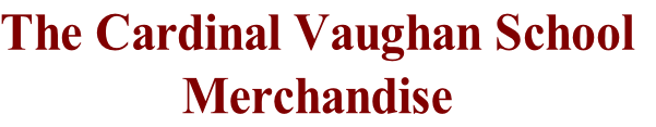 The Cardinal Vaughan School Merchandise